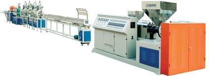 PVC PS Plastic Foamed Profile Production Line