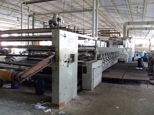 Used Zimmer Make Rotary Printing Machine