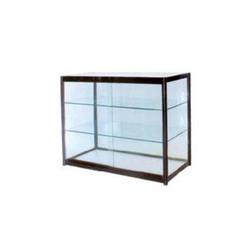 Glass food display cabinet