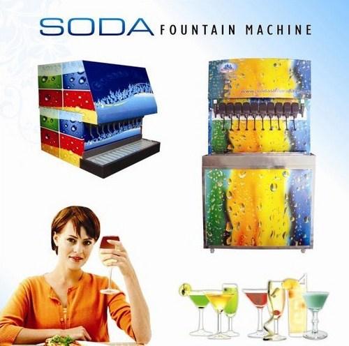 Soda Fountain Dispenser Machine in   Dist.