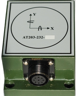 AT203-SC Inclinometer (Accelerometer Tilt Sensor)