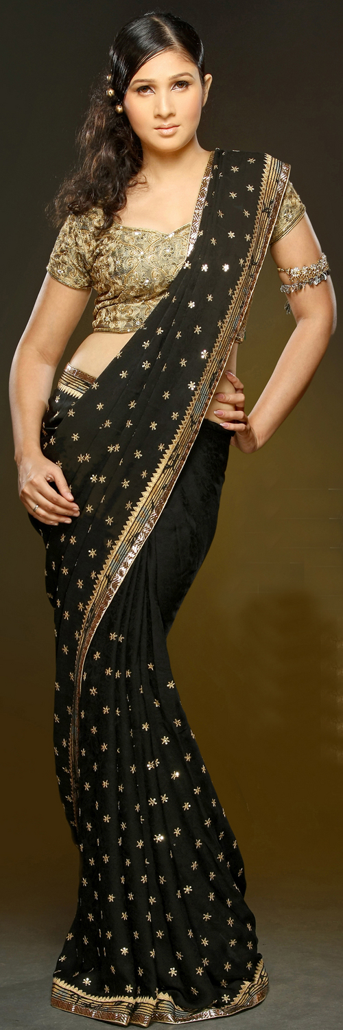 Sequence Work Silk Sarees in  New Area