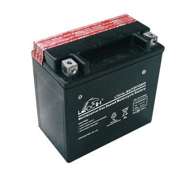 LEOCH MF Motorcycle Battery With 12V 12AH