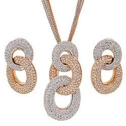 Diamond Pendant Set