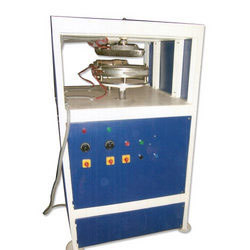 Semi Automatic Double Die Dona And Plate Making Machine