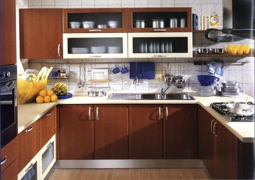 Elegant Finish Modular Kitchen In Noombal