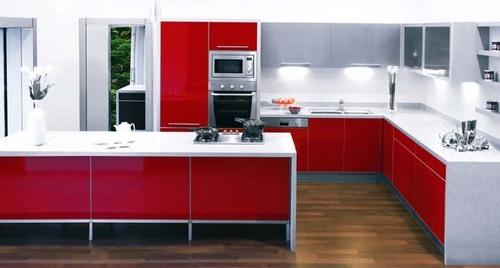 Classic design modular kitchen furniture in new delhi for Kitchen furniture design india