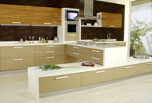 Elegant Modular Kitchen Furniture