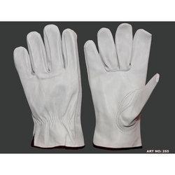 Fine Leather Driving Gloves in  Motilal Basak Lane