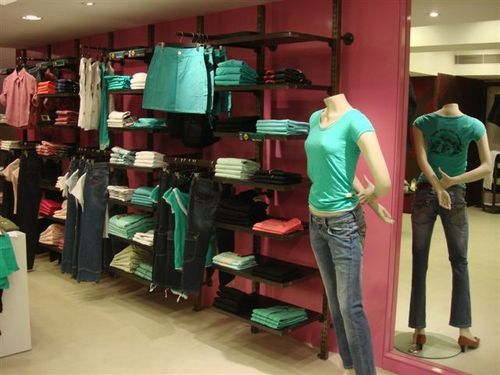 Awesome Garment Shop Interior Design Ideas Photos - Interior ...