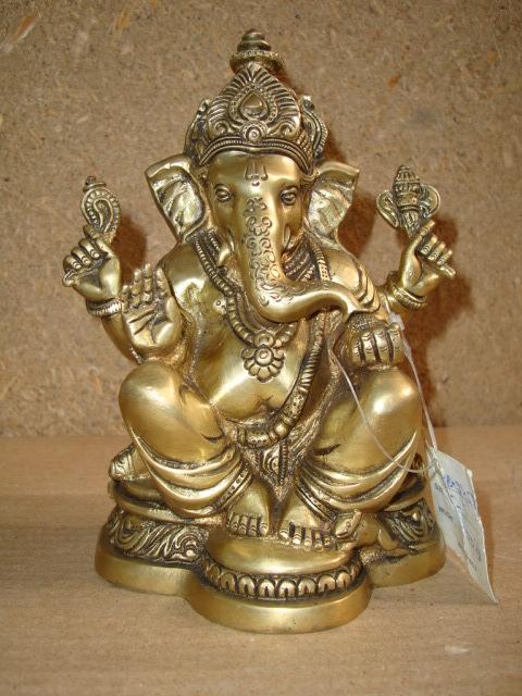Bronze Ganesh in  Okhla - I