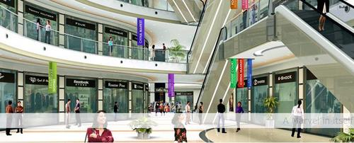 Commercial Malls Construction Projects in  New Area