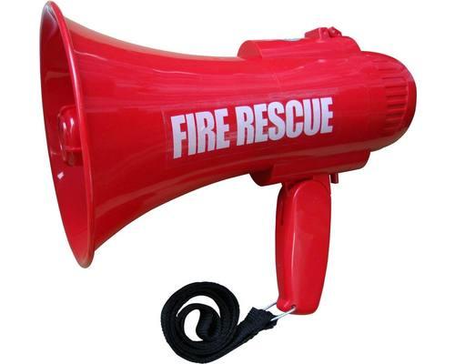 Fire Rescue Megaphone