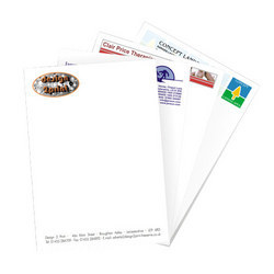 Letter Pads Printing Services