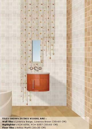 Ethnic design wall tiles in mangolpuri delhi distributor for Indian bathroom tiles design pictures