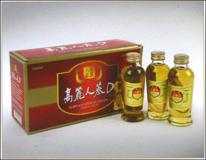 Korea Ginseng Root Drink 120ml