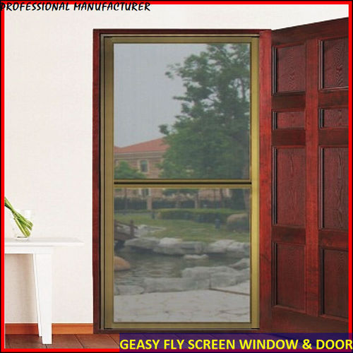 Magnetic insect screen for windows in foshan guangdong for Sliding insect screens windows