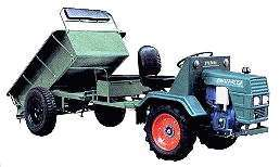 LGN-12Y Wheel Typed Walking Tractor