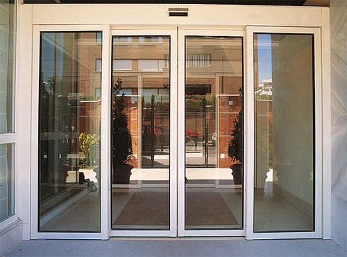 Electric Sliding Doors : S glass railing with side fixing systems in borivali e