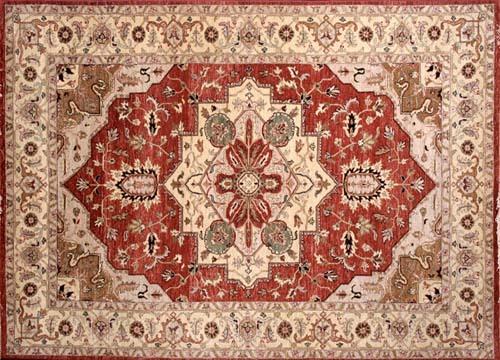 Indian design carpet in agra uttar pradesh cottage industry for Indian cottage designs