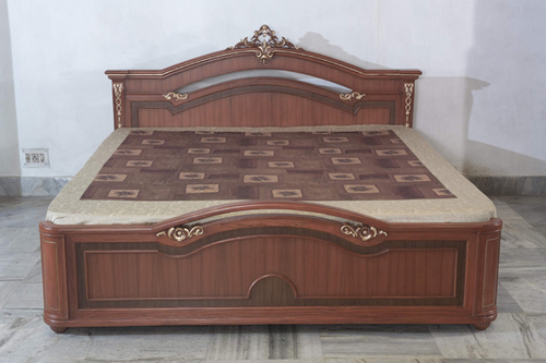 Simple wooden double bed - Wooden Bed In A J C Bose Road Kolkata Manufacturer