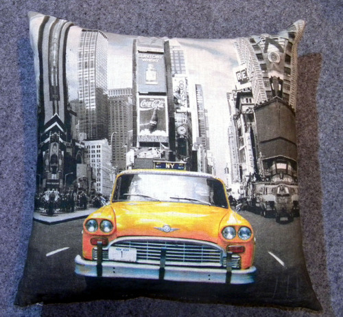 Customised Cuba Car Design Print Cushions