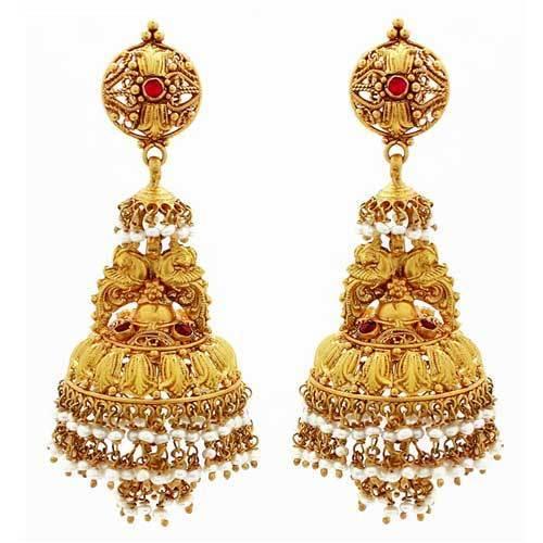 Bridal Gold Jhumka