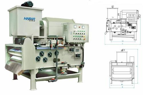 Haibar Sludge Dewatering Machine HTA-500