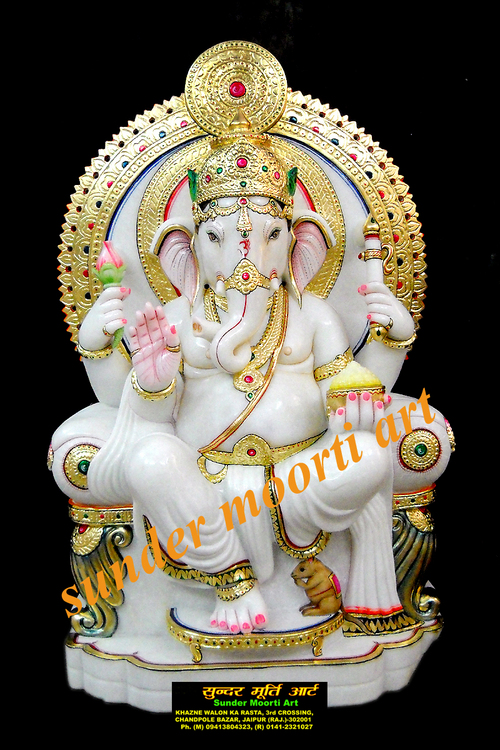 Marble Ganesha Statue In Jaipur Suppliers Dealers Amp Traders