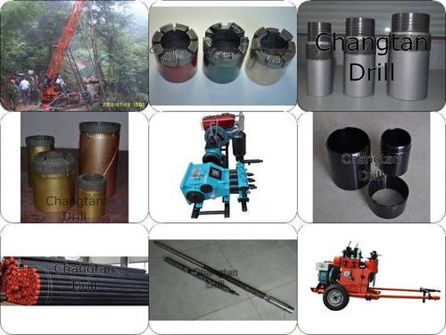 Core Drilling Rigs And Core Drilling Tools