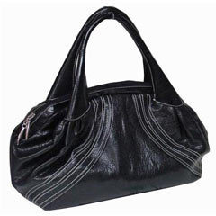 Leather Hand Bag in  Sion