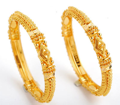 Gold Bangles in Chennai Tamil Nadu India T B JEWELLERY