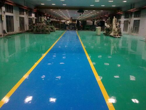 Epoxy Floor Coating Work