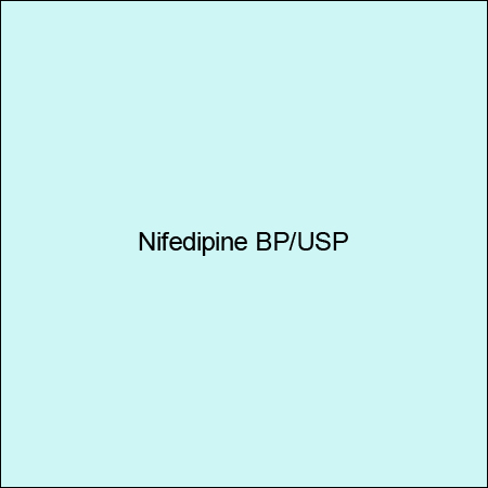 Nifedipine Bp/Usp