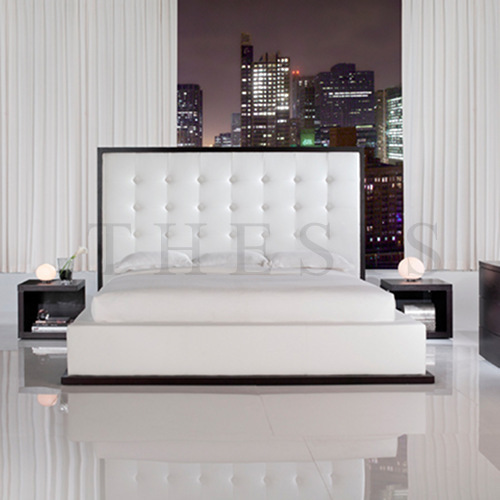 Modern Bed Back Designs : Designer Leather Bed in Chattarpur, New Delhi, Delhi, India - THE SIS