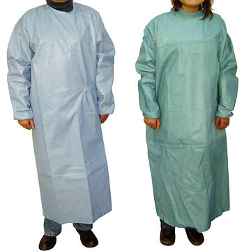 Surgeons Non Woven Sterile Gown in Vatva, Ahmedabad - Exporter and ...