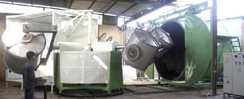 Three Arm Biaxial Machine