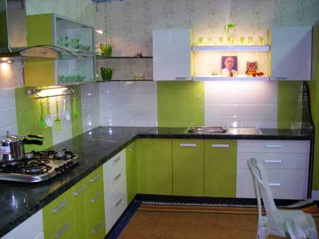 Modular kitchen designing in wardha road nagpur dwar for Kitchen interior design india
