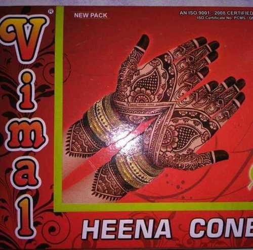 Vimal Henna Cone