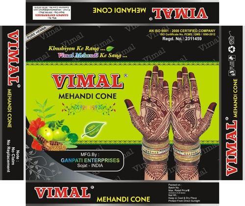 Golden Vimal Mehndi Powder