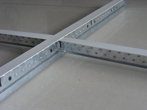 Black Gypsum Board : False ceiling t grid of pvc gypsum board in lanshan