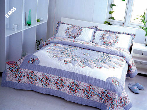 Quilted Bed Cover in Midc-Andheri (E), Mumbai - Exporter : quilted bed cover - Adamdwight.com