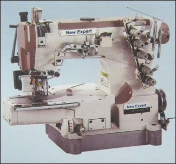 3 Needle Cylinder Bed Chain Stitch Interlock Sewing Machine With Puller in  Jogeshwari (E)