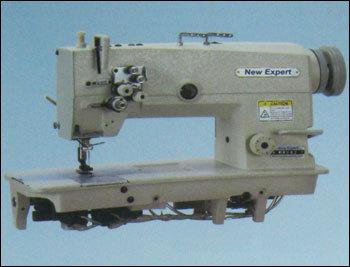 High Speed Double Needle Flatbed Lock Stitch Sewing Machine in  Jogeshwari (E)