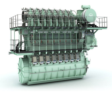 Two Stroke Low Speed Marine Diesel Engine