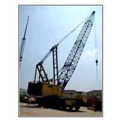 Tyre Mounted Crane Hire Service