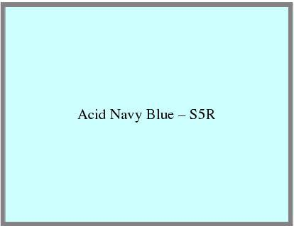 Acid Navy Blue – S5R