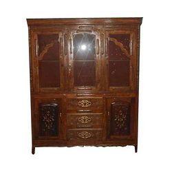 Wooden Furniture Design Almirah wooden furniture - saharanpur handicraft bazar - kolkata, india