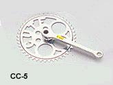 Single Speed Powder Coated Chain Wheel