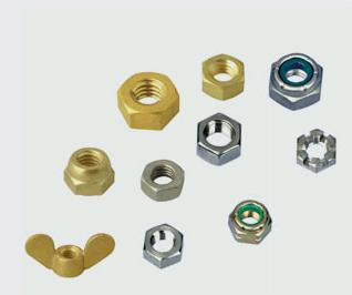 Brass/Mild Steel Nuts in   Near Main Market